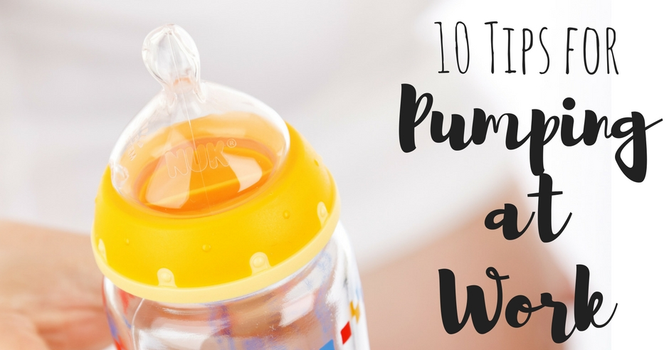 10 Tips for Pumping at Work