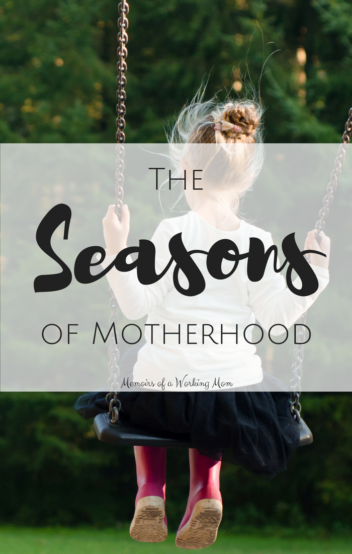The Seasons of Motherhood Pin