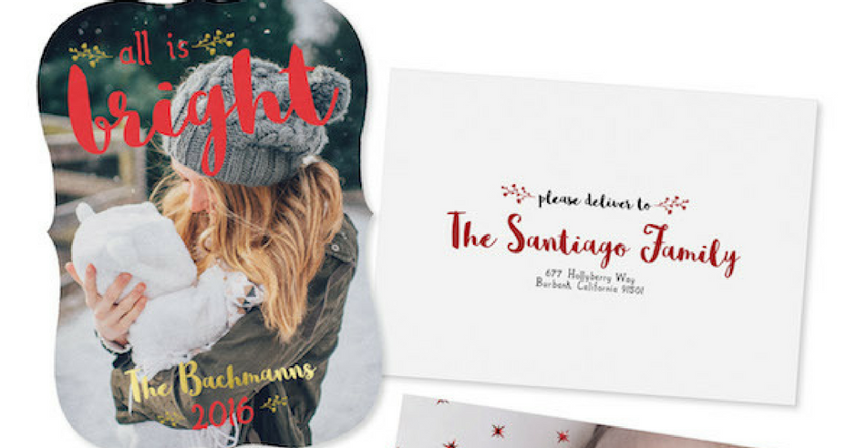 How to Save Time on Holiday Cards