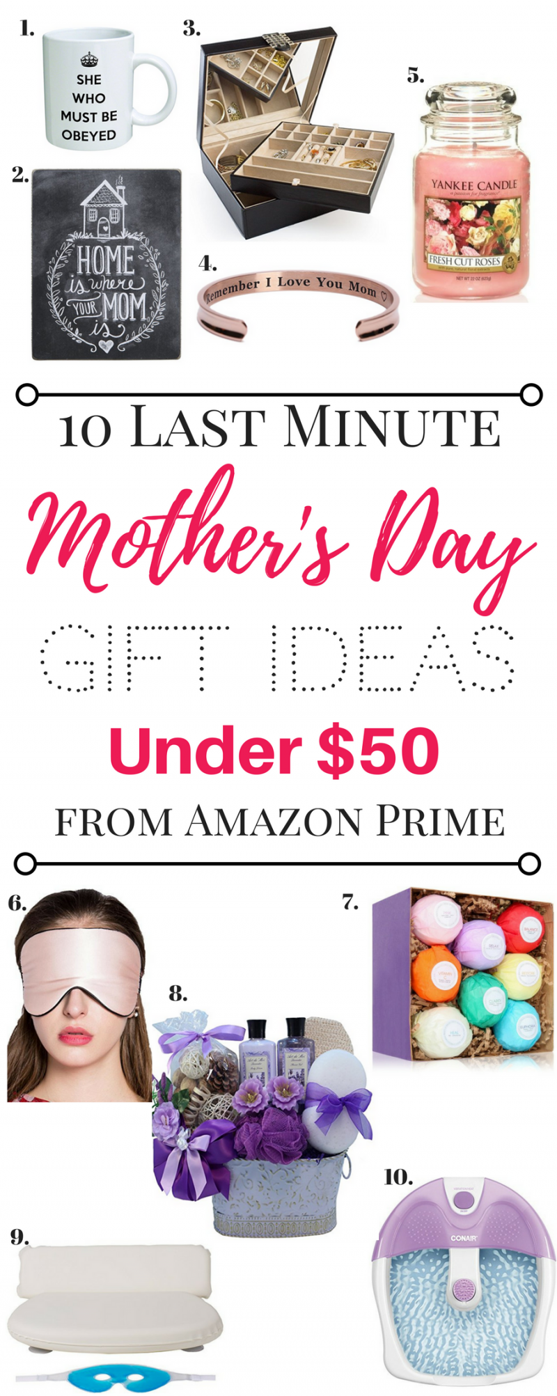 Last Minute Mother 39 S Day Gift Ideas Under 50 From Amazon