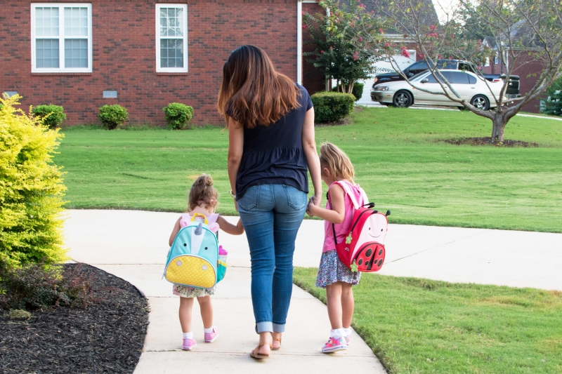 A Day in the Life of a Pre-K Mom
