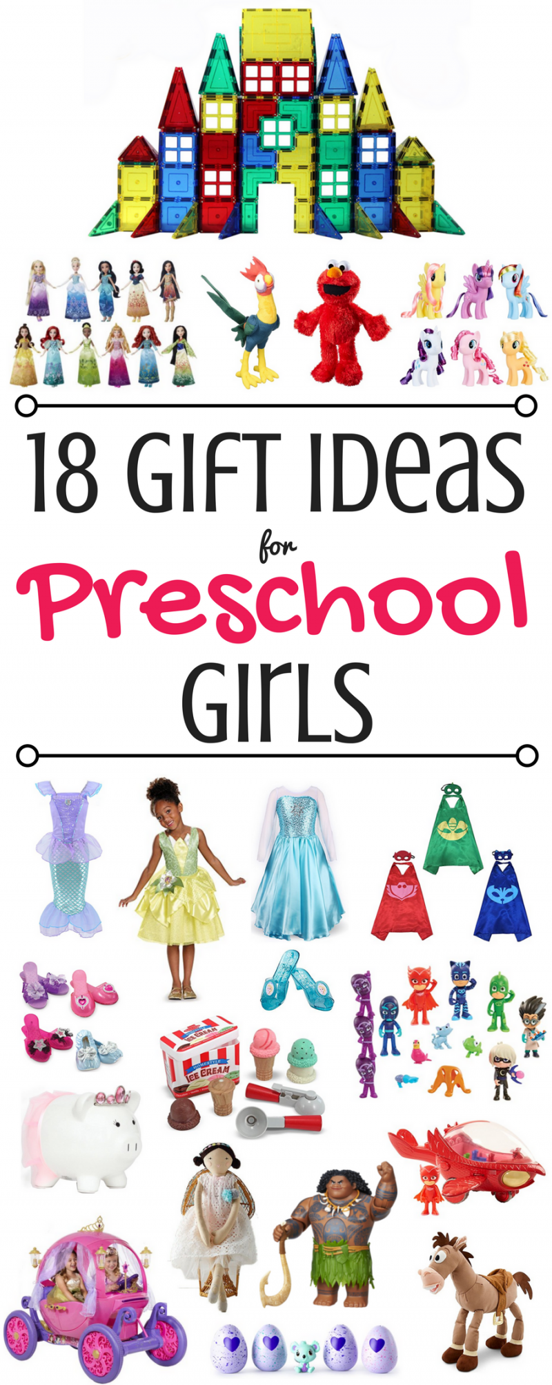 18 GIFT IDEAS FOR PRESCHOOL GIRLS
