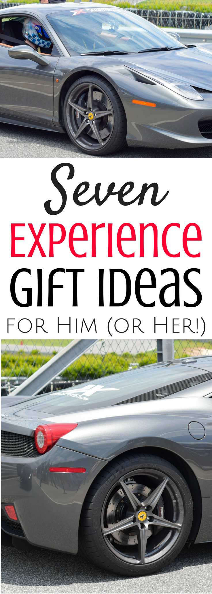 Seven Experience Gift Ideas for Him (or Her!)