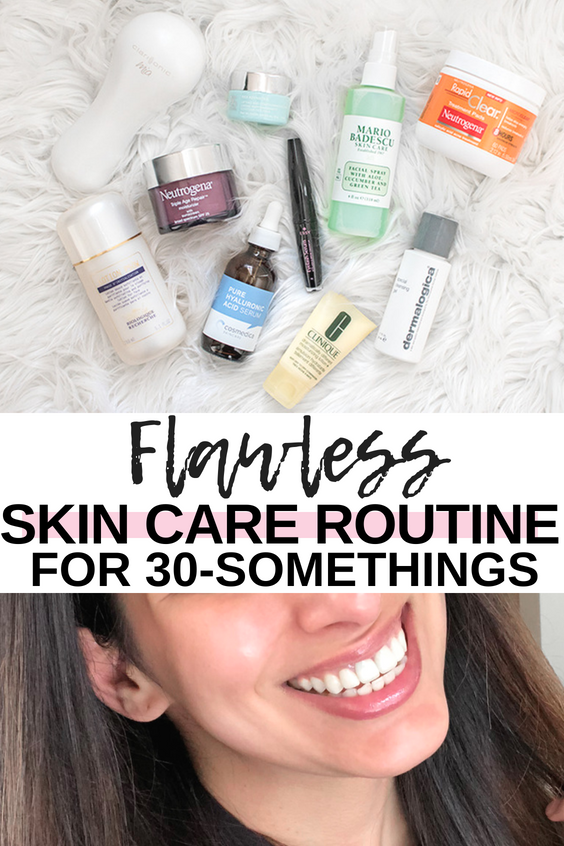 Daily Skin Care Routine for 30 Somthings